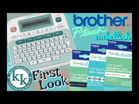 Brother P-Touch Embellish LIVE First Look & Other Fun Stuff #Ptouchembellish