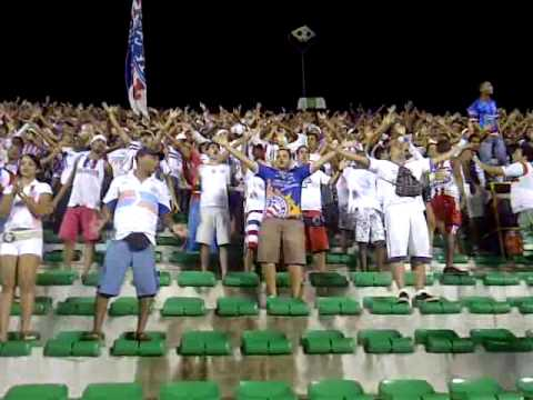 Bahia Football Fans samba to the drums