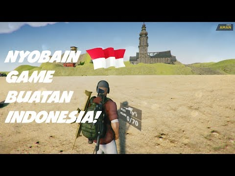 NYOBAIN GAME BUATAN ANAK INDONESIA||Evil Force Alpha Gameplay