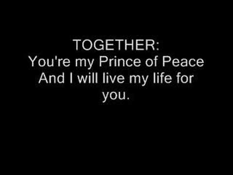 You are Holy (Prince of Peace) Michael W. Smith w/ lyrics