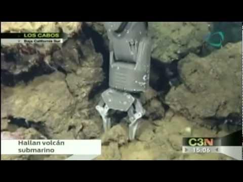 Hallan volcán submarino en Los Cabos, Baja California Sur