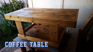 My Next Project: Coffee Table