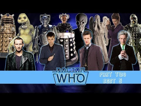 Ranking Doctor Who #3: The New Series - Part Two (Best 5)