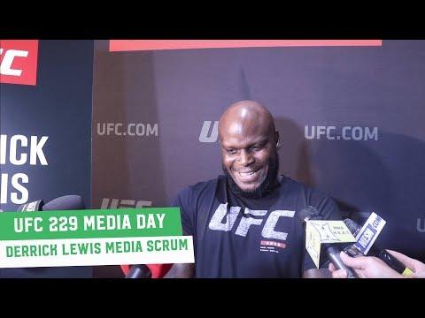 UFC 229 Media Day: Derrick Lewis Scrum