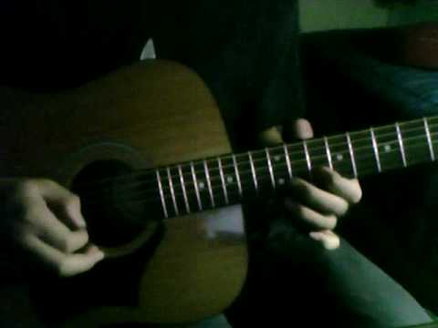 how to play tears dont fall acoustic