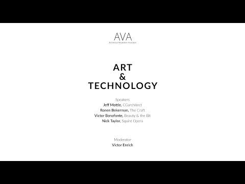 BCN Summit #1 – Art & Technology | AVA - Architectural Visualization