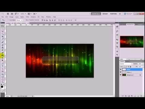 Hướng Dẫn Làm Button Trong Suốt Với Photoshop - Button Transparent With Photoshop