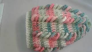 "Шапка ""спиралька"" крючком .Women's hats Crochet (#6)"