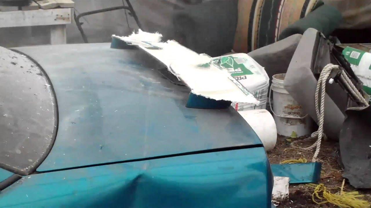 Building Demolition Derby Car : Demolition derby car build youtube