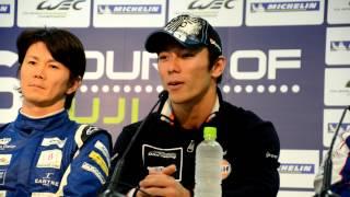 WEC(世界耐久選手権)第7戦富士に参戦している佐藤琢磨が、同シリーズ...