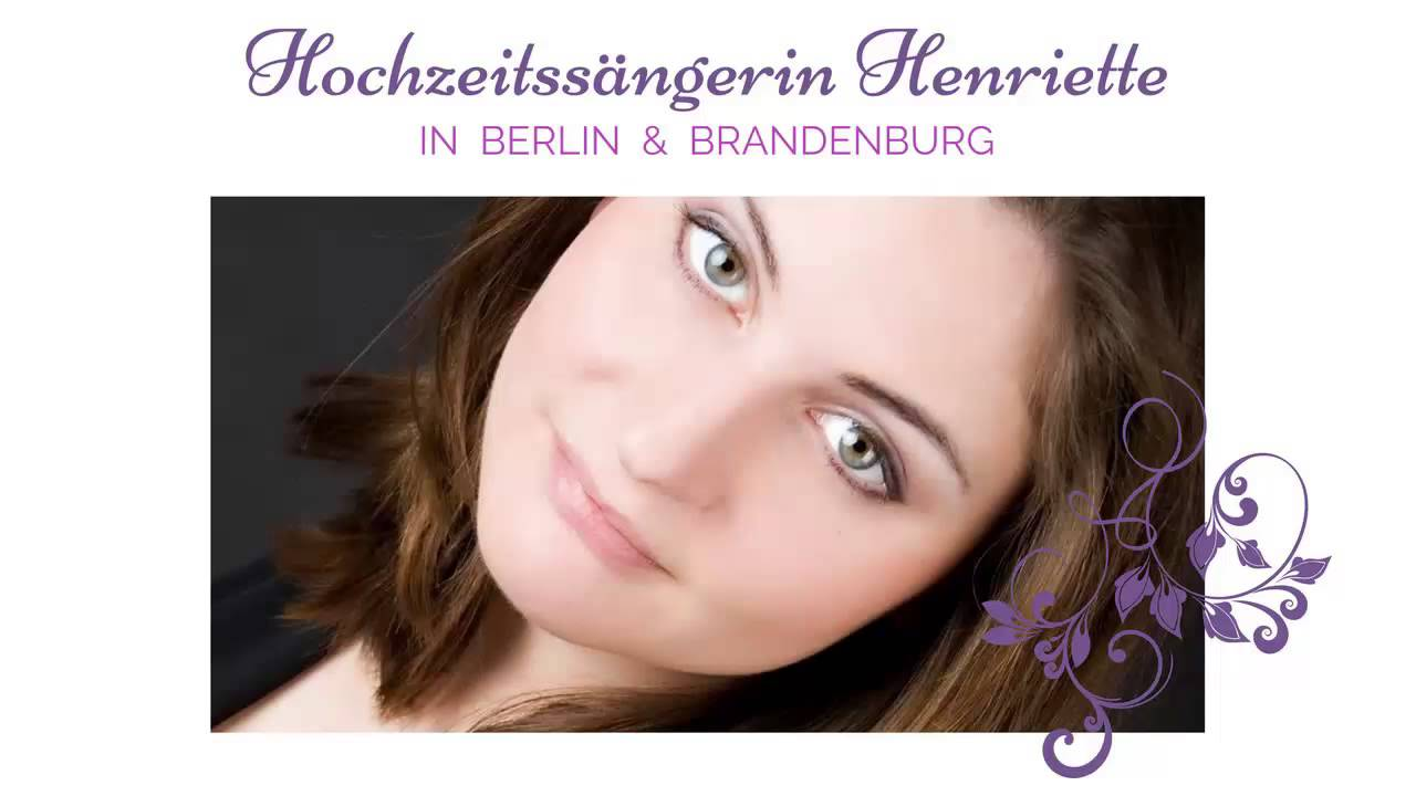 Hochzeitssangerin Livemusik Zur Trauung Raum Berlin Magdeburg
