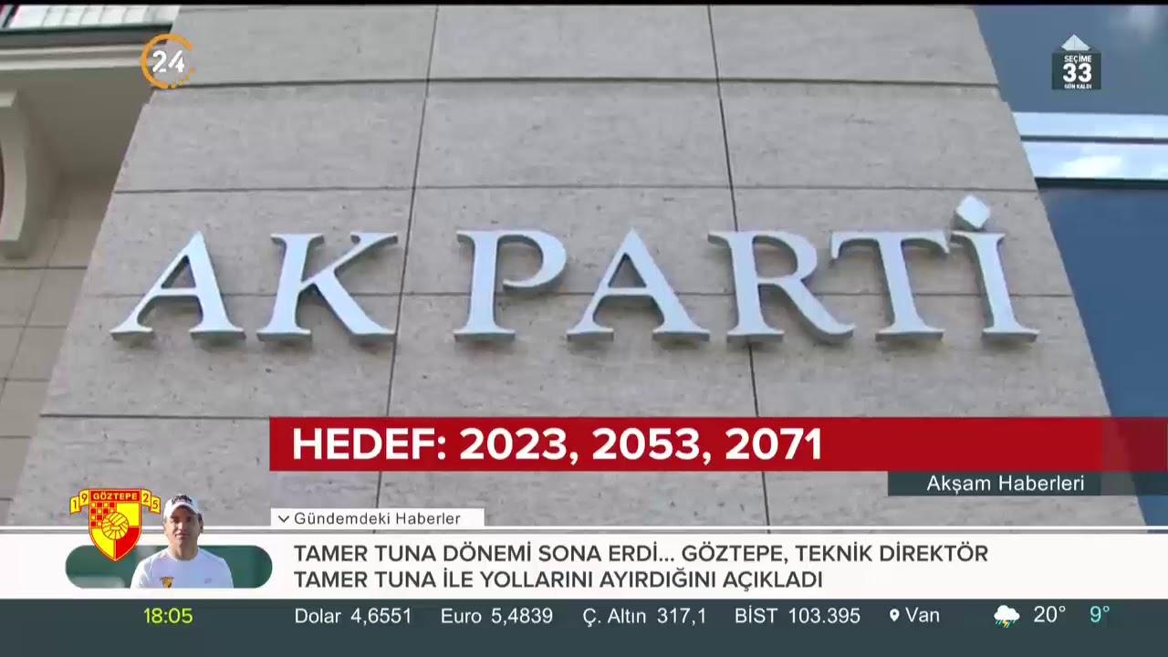 AK Parti seçim beyannamesinde öne çıkan başlıklar