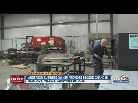 Anderson company offers jobs to felons