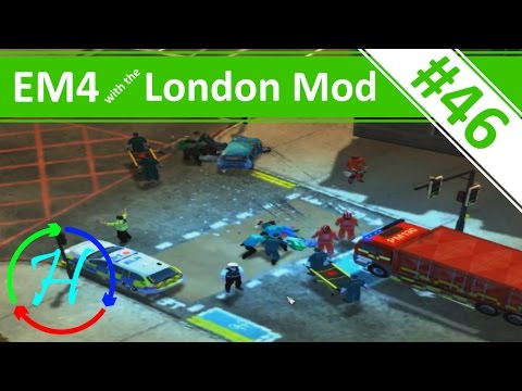 Back to London: Suicide, RTC's and Incidents! - Ep.46 - Emergency 4 - London Mod Continuous Gameplay