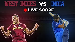 India vs West Indies, 1st T20 - Live Cricket Score Stream - Live Score Streaming