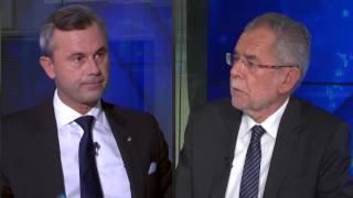 TV-Duell Hofer gegen Van der Bellen