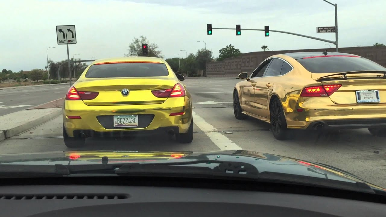 2 Different Gold Chrome Vinyl Wrap By T Wrap Youtube