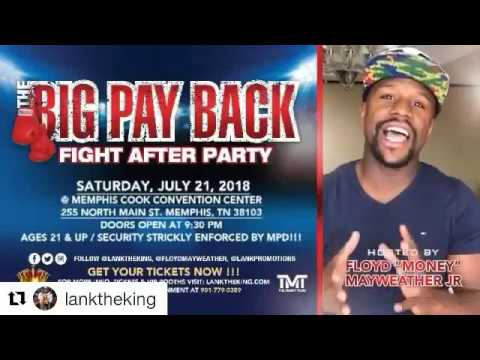 The Big Pay Back Fight After Party