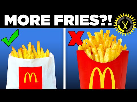 Food Theory: Never Order McDonald's Medium Fries! - The Food Theorists