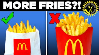 Food Theory: Never Order McDonald's Medium Fries!