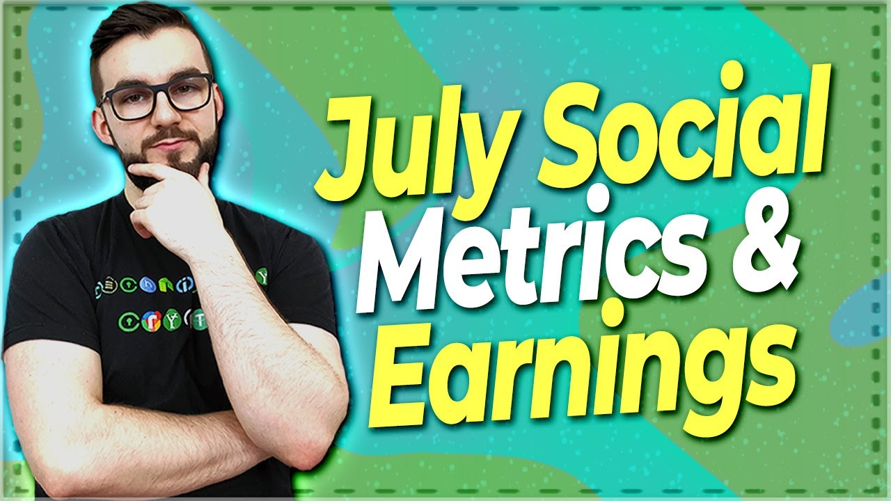 ▶️ July Crypto & Blockchain Social Metrics & Earnings Report | EP#349