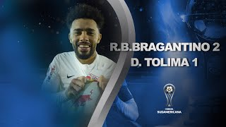 Red Bull Bragantino vs. Deportes Tolima | RESUMEN | Fecha 1 | CONMEBOL Sudamericana 2021