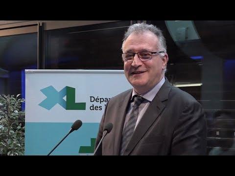 Vœux 2018 : discours de Xavier Fortinon, Président du Conseil départemental des Landes