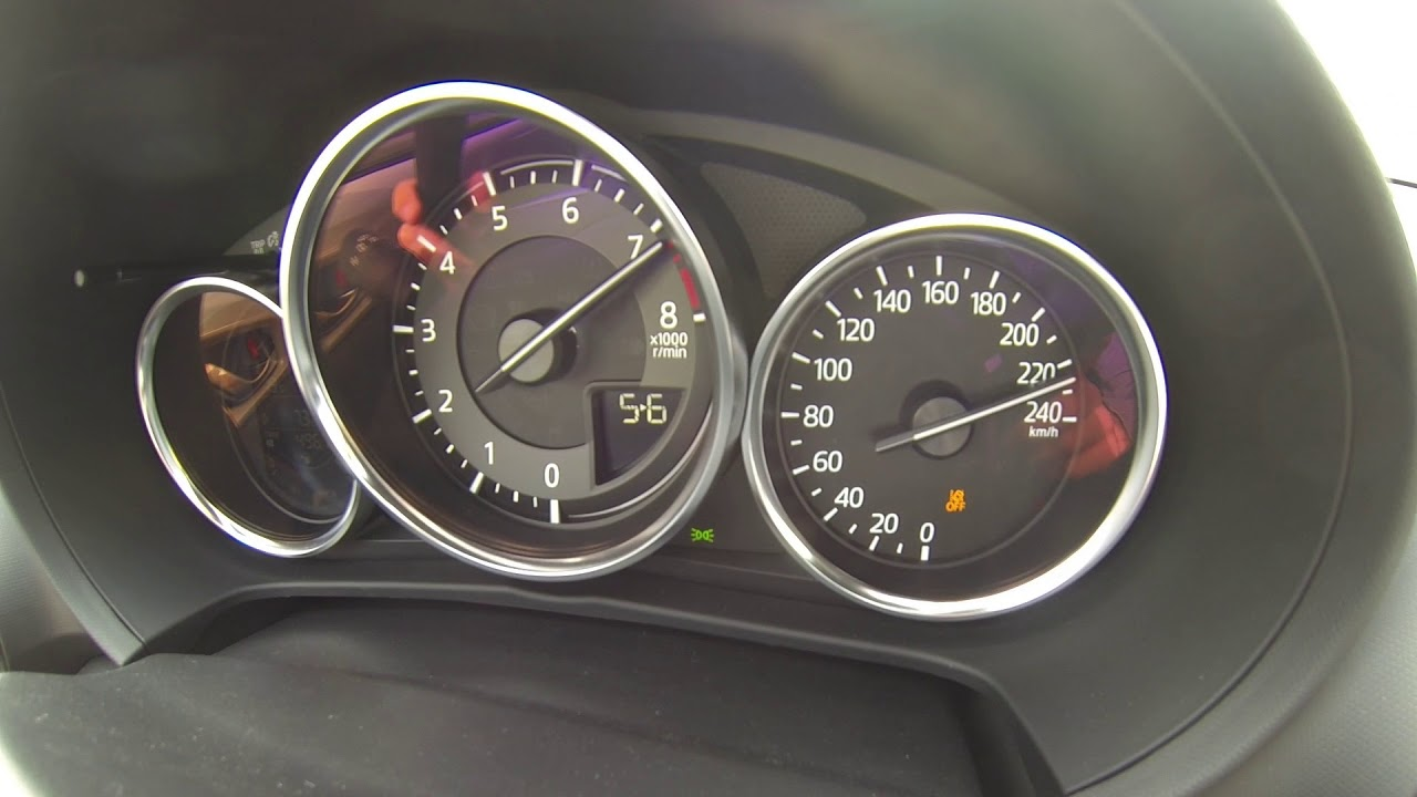2019 Mazda MX-5 ND 184 ch Acceleration Top Speed 0-240 km/h !