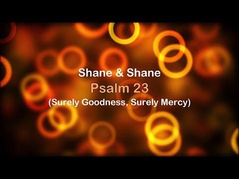Psalm 23 (Surely Goodness, Surely Mercy) - Shane & Shane [lyrics] HD