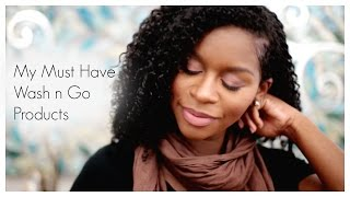 Natural Hair| My Must Have Wash n Go Products