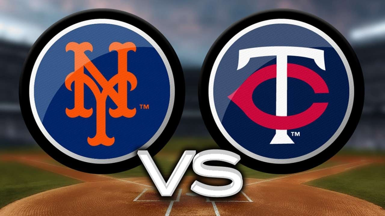 Mets see red at Target Field, sweep the Twins