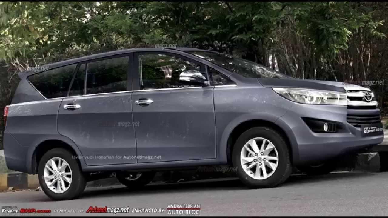 Bentuk Baru Toyota Kijang Innova 2015 YouTube