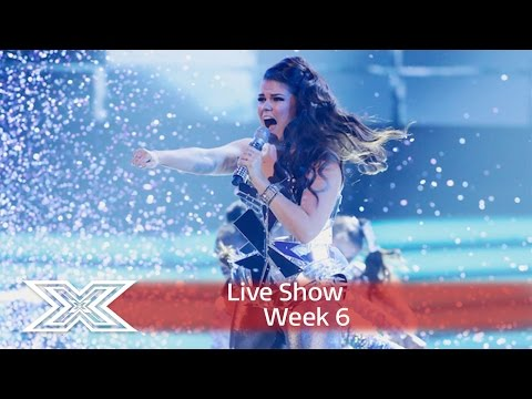 Saara Aalto does Donna Summer for Disco Week!   Shows Week 6  The X Factor UK 2016
