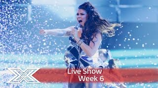 Saara Aalto does Donna Summer for Disco Week! | Live Shows Week 6 | The X Factor UK 2016