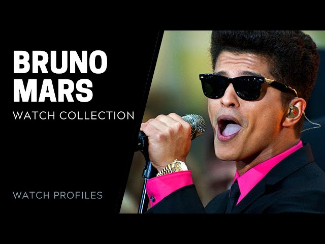 Bruno Mars Watch Collection | SwissWatchExpo