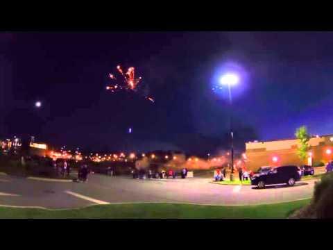 Dartmouth Crossing Fireworks June 2015