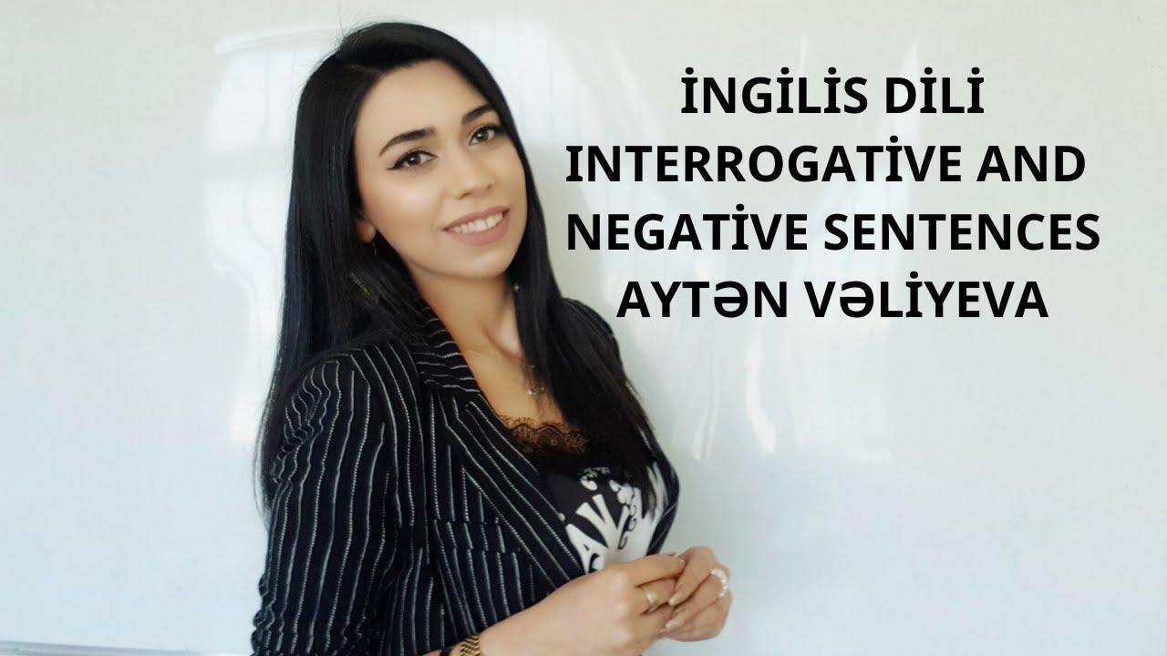 İngilis Dili - Xüsusi sual cümlələri