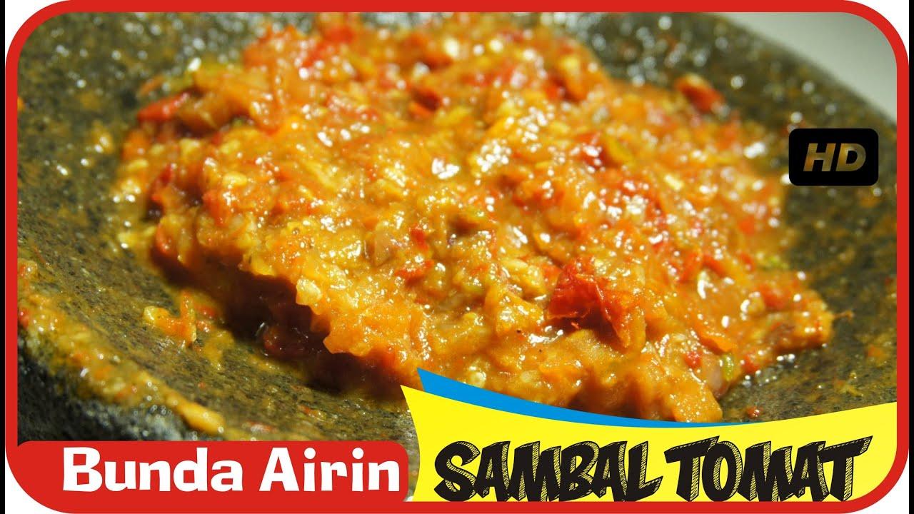 Resep Sambal Tomat Pedas Mantab - Resep Masakan Indonesia ...