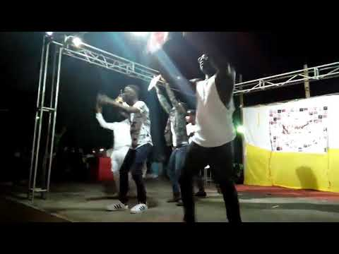 Ahuofe caused a tsunami on stage with a dope performance @ UEW, College of Languages Education _A