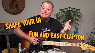 Shape Your In Guitar Clapton Easy Lesson