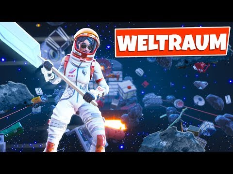 Fortnite: EVIL WELTRAUM PARKOUR!