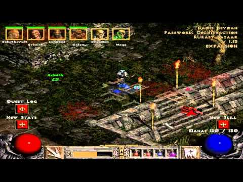 Let's All Play Together Diablo 2 018: Crude Jared's