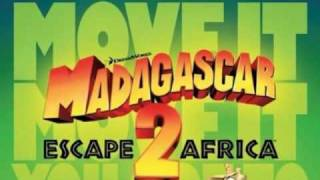 Alex on the spot. A traveling song from Madagascar 2