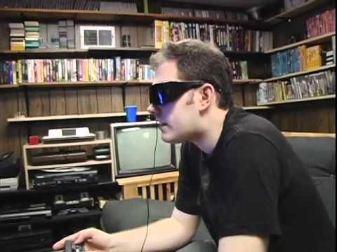 Sega 3-D Glasses - AVGN Bonus Feature - Cinemassacre.com