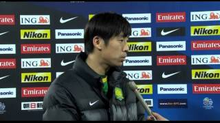 Interview: Lang Zheng, Defender -  Beijing Guoan (In Chinese)