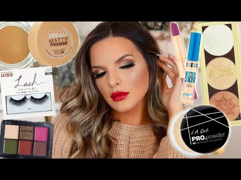 DRUGSTORE HOLIDAY GLAM MAKEUP TUTORIAL   Casey Holmes