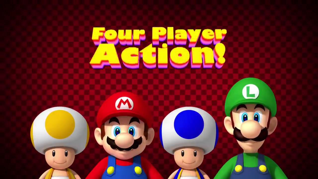 video New Super Mario Bros. (Nintendo Selects) – Wii
