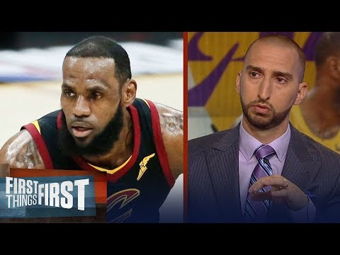 How long is LeBron's championship window open in LA?   NBA   FIRST THINGS FIRST