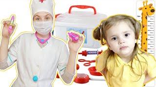Ариша  и капризный пациент как мультики про доктора для детей