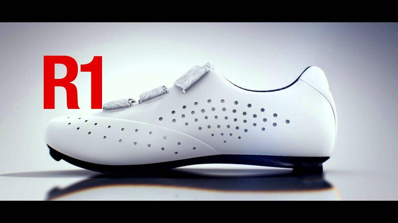 6cf5a2fdd8b Fizik R1 Road Cycling Shoes - YouTube